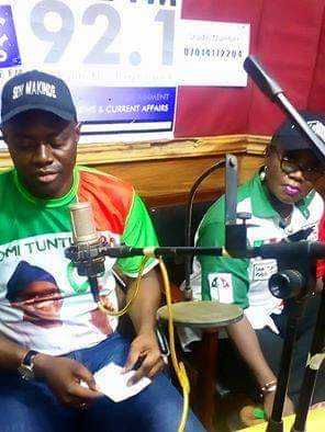 His Excellency Engr Seyi Makinde Live at Ajilete FM 92.1 Gambari Ogbomoso2
