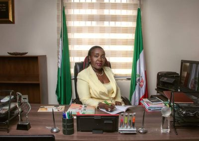 Hon. Mulikat Akande Adeola on Governmental Duty