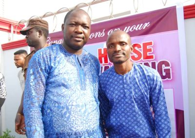 MR JERRY AND PASTOR PETER OLALEYE